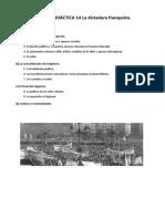 UD 14 - La Dictadura Franquista
