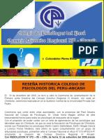 Diapositivas de Colegio de Psicologos