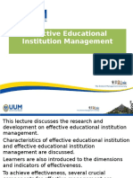 lecture 4 on effective institutional management  n