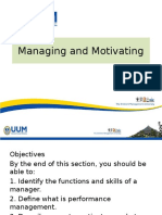 lecture 5 on managing  motivating