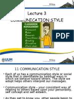 lecture on com skill