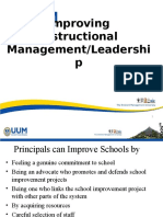 lecture on improving instructional