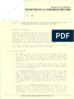 1991 AO12 Rules and Procedures to Govern the Acquisition and Distribution of Homelots Under the CARP