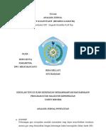 Analisis Jurnal Regresi Logistik