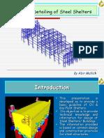 Design & Detailing of Steel Shelter Final