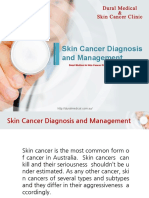 Skin Cancer Diagnosis and Management
