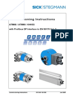 Profibus Encoder Connection