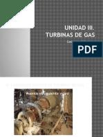 Unidad III.- Turbinas de Gas
