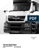 TGS 8x4 Rigid Tipper