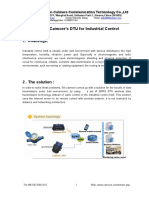 Xiamen Caimore's DTU for Industrial Control
