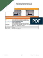 Industrial 3.75G HSPA+ 1 Lan  Router CM520-81H