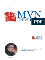 Mvn University | Best University in Delhi NCR, Haryana, India
