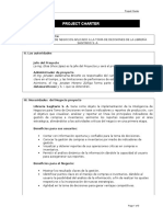 Project Charter - Silva Lopez, Valderrama Briceño, Moreno Zúñiga