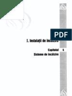 1. Instalatii de Incalzire - Cap 04 - Sisteme de Incalzire