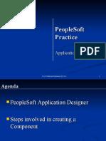 PeopleSoft Application Designer Practice