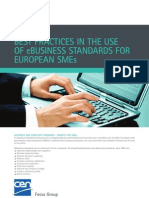 eSMEs - Best Practices in the use of eBusiness standards for European SMEs