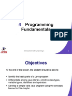 programming fundamentals