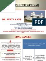 Prof Surya Kant's presentation before World Cancer Day 2016
