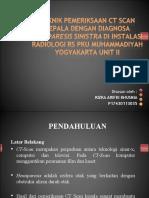 Ppt Presentasi Ct Kepala Dg Kasus Hemiparesis