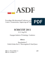 Proceeding of the International Conference on Systems, Science, Control, Communication, Engineering and Technology 2015