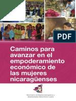 Caminos para el Empoderamiento de las Mujeres Nicaraguenses 2015
