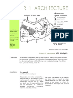 Project 02 Site Analysis Assignment