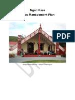 Ngati Kere Hapu Management Plan Edited