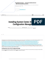 6-Installing System Center 2012 R2 Configuration Manager