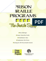 Prison Braille Programs - The Inside Scoop