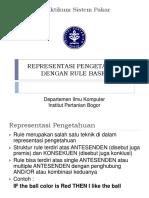 2_Representasi Pengetahuan Dengan Rule Based