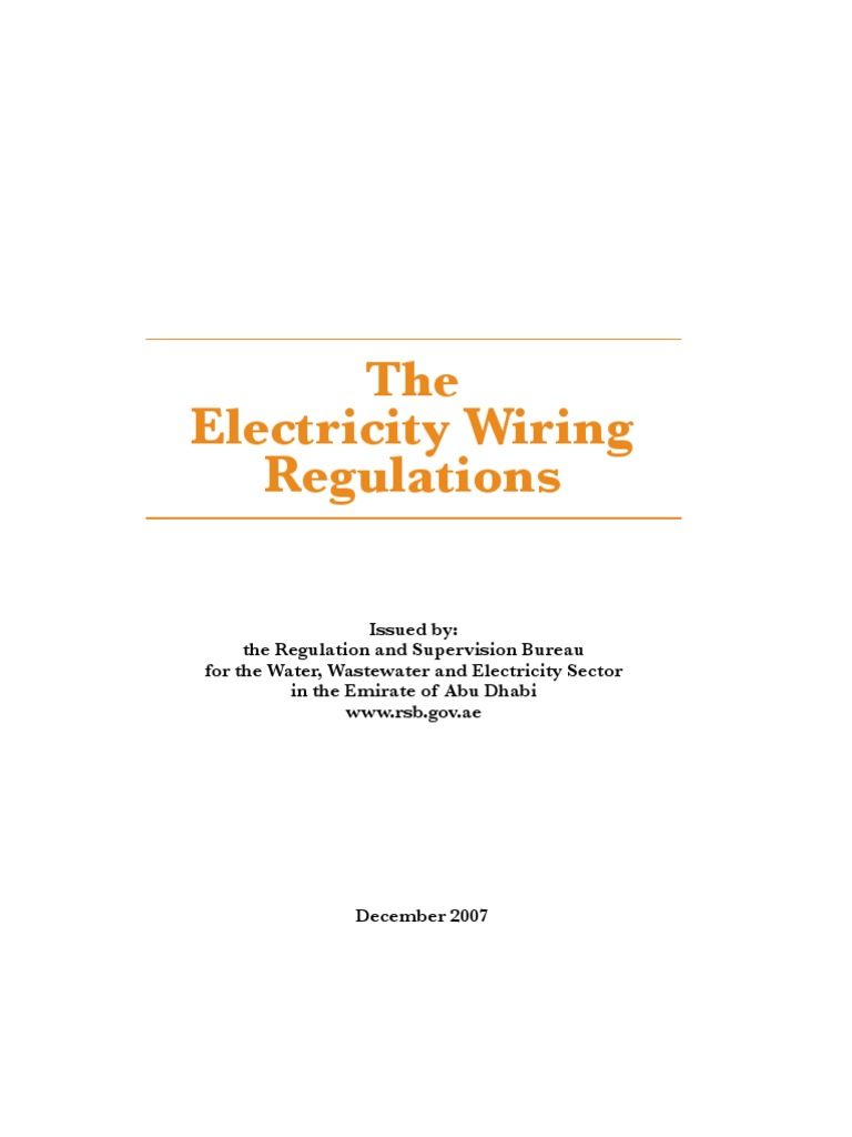 Wiring regulations i electrical wiring electric power distribution greentooth Gallery
