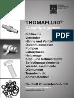 Thomafluid Gesamtprogramm (deutsch)