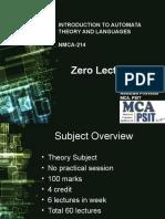 Zero Lecture ppt