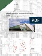 analisis de museos por su arquitectura y contenido. MUAC, Musée du Quai Branly, MAM,