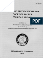 IRC-78-2014 Standard Specifications and Code of Practice for Road Bridges, Section VII - Foundations and Substructure (Revised Edition)