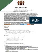 NE 2.1.7b Release Notes