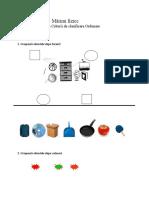 Mǎrimi Fizice-clasificare, Ordonare