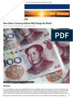 China Currency Impact