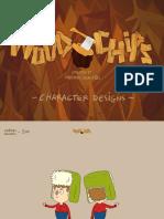 Nickelodeon's Woodchips Character Design