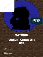 Matriks Powerpoint 140108053312 Phpapp01