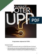 Programme régional de l'UPR