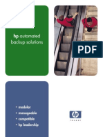 automated backup solutions brochure
