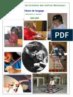Montessori3-6 Album Lecture