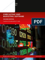 Forecasting and Budgeting Software