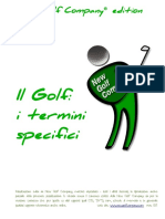 Il Golf i Termini Specifici