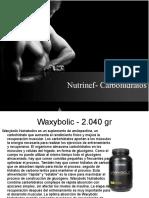 Nutrinef- Carbohidratos