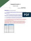 Assignment Business Math@Stat