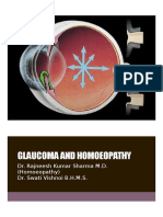 Glaucoma and Homoeopathy