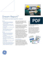 Dream Report for Proficy