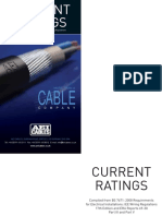 CurrentRatings Cables